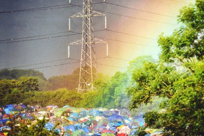 Glastonbury Festival, where the absence of authority results in order, not anarchy