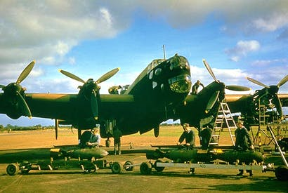 One of the 444 airfields built during the second world war (Photo: Getty)