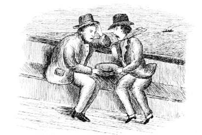 'Pleasures of a sea voyage' from Three Men and a Bradshaw