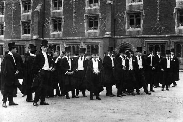 Eton, 1907 (Photo: Getty)