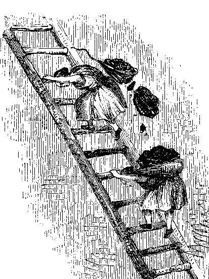 What happens when they've climbed the ladder?