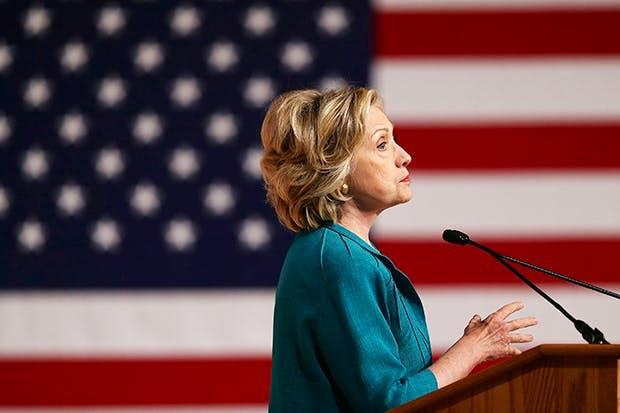 Hillary Clinton (Photo: Joe Raedle/Getty)