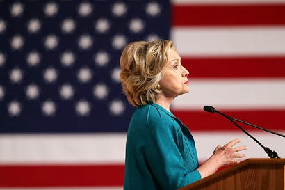 Hillary Clinton (Photo: Joe Raedle/Getty)