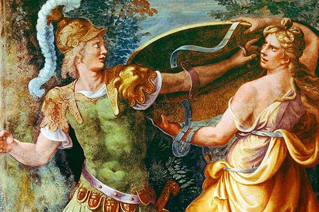 'Thetis giving Achilles his arms' (fresco), Giulio Romano, 1492–1546