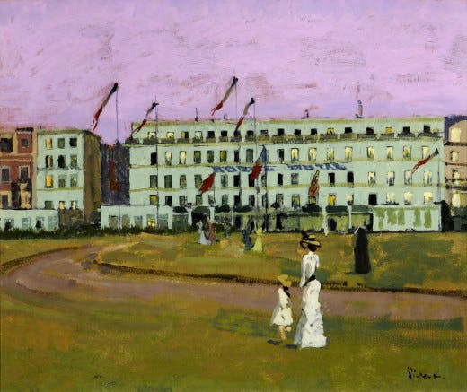 Walter Sickert, L'Hotel Royal, Dieppe, 1894, Museum Sheffield