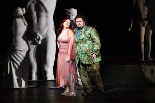 A performance of Parsifal at the Salzburg Easter Festival, 2013, conducted by Christian Thielemann