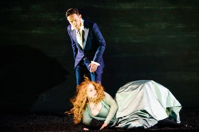 An abundance of spectacle: Iestyn Davies as David, with Sophie Bevan as Michal