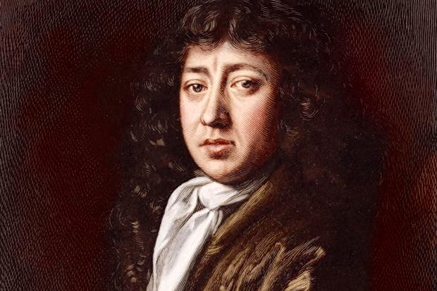 Portrait of Pepys, after John Hayls. The Diary for 17 March 1666 reads: 'This day I begin to sit [for Hayls], and he will make me, I think, a very fine picture.... I sit to have it full of shadows, and do almost break my neck looking over my shoulder to make the posture for him to work by.'