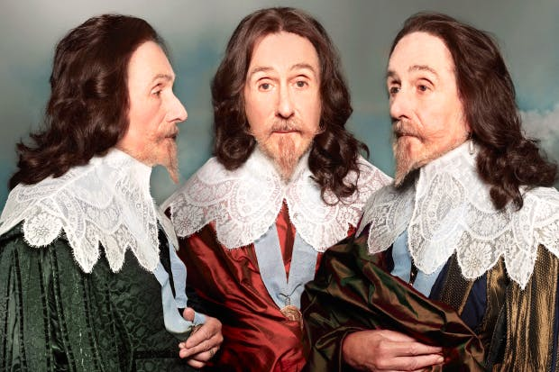 Illusions of grandeur: Roy Strong as a Stuart king (Charles I, after Sir Anthony Van Dyck)