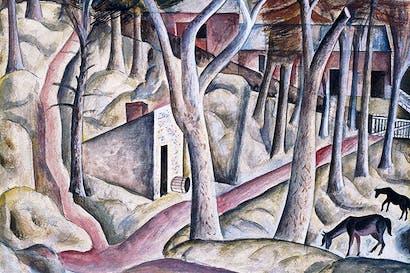 'Capel-y-ffin', 1926–7 (watercolour and gouache)