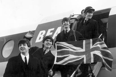 Beatles mania! (Photo: Getty)