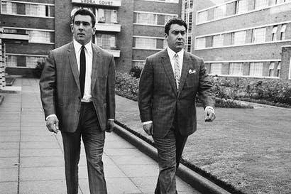 Sympathy for the devils: Reggie and Ronnie Kray in northeast London, 1964