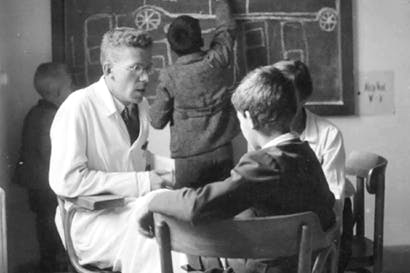 Hans Asperger at the Children's Clinic of the University of Vienna Hospital c.1940