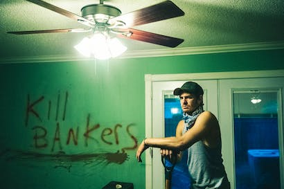 Andrew Garfield in 99 Homes