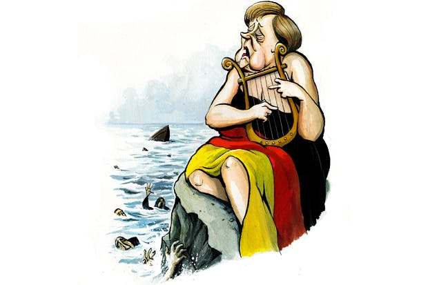 Merkel's grandstanding on Syrian refugees will lead to many
