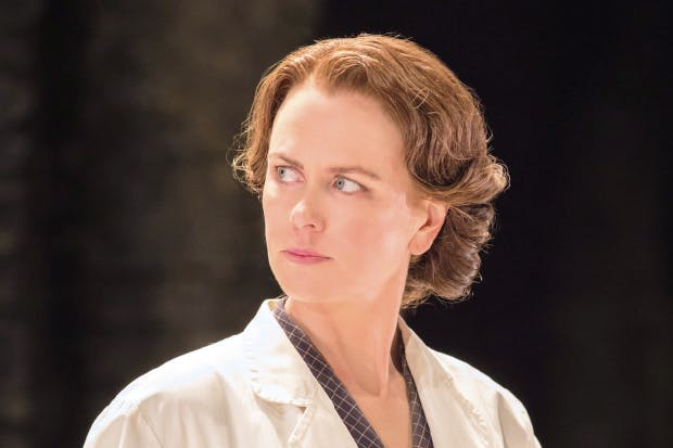 Playing it cool: Nicole Kidman as Rosalind Franklin