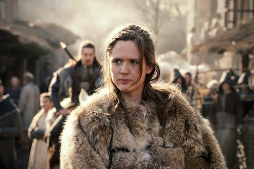 Emily Cox as Brida in The Last Kingdom