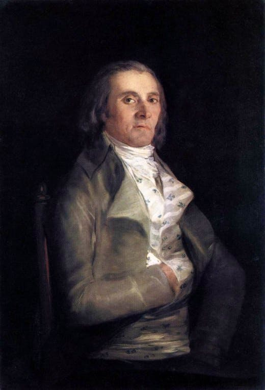 Goya's portrait of Don Andrés del Peral