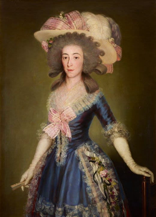 Goya's 'Countess-Duchess of Benavente' (1785)