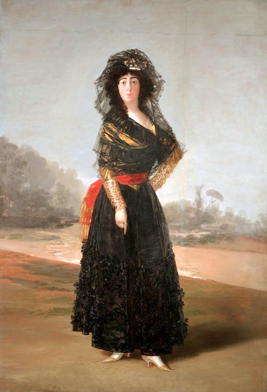 Goya's 'The Duchess of Alba' (1797)