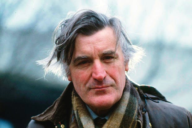 Hughes in 1986: Bate simply fails to make the case his book stands on – that the poet was a sadist