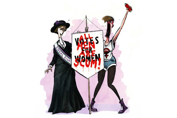 444cc02d5 Feminism is over, the battle is won. Time to move on | The Spectator ...
