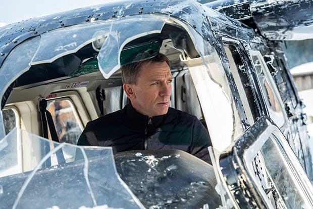 Sultry and dull: Daniel Craig as James Bond