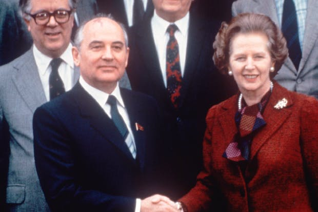 The meeting of Thatcher and Gorbachev in 1984 initiated the process that brought freedom to millions in Eastern Europe