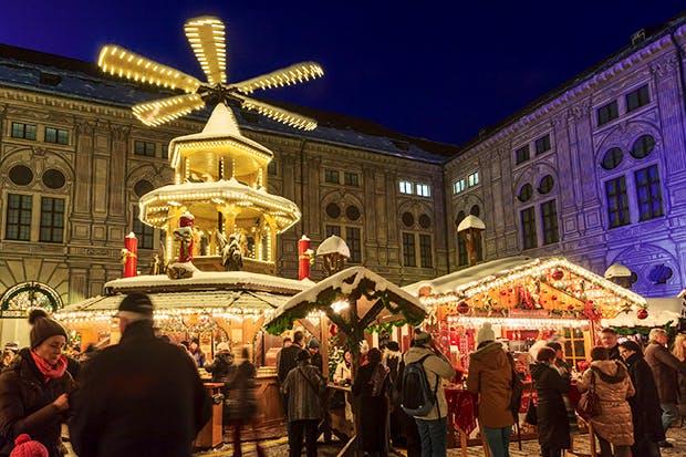 Dresden's Striezelmarkt dates back to 1434