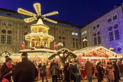 Dresden's Striezelmarkt dates back to 1434