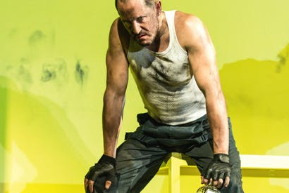 Going ape: Bertie Carvel as Yank