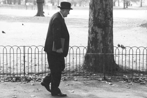 Rab Butler after the defeat of the Conservatives in 1964. 'His clothes were truly tragic,' said Chips Channon