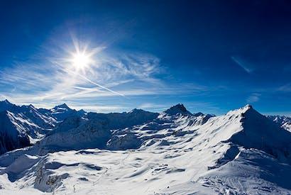 Hallowed place: Alpine scenery near Grimentz