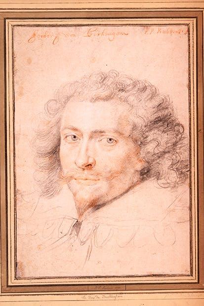 Portrait of the Duke of Buckingham by Peter Paul Rubens