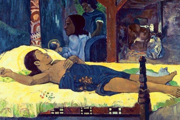 'The Birth of Christ', 1896, by Paul Gauguin