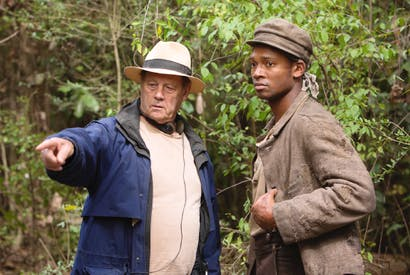 Bruce Beresford directs Sedale Threatt in the re-make of Roots