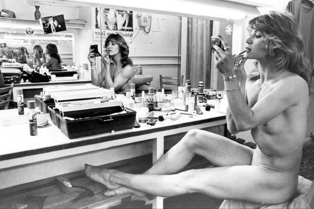 Marilyn Chambers at Raymond Revuebar, 1979