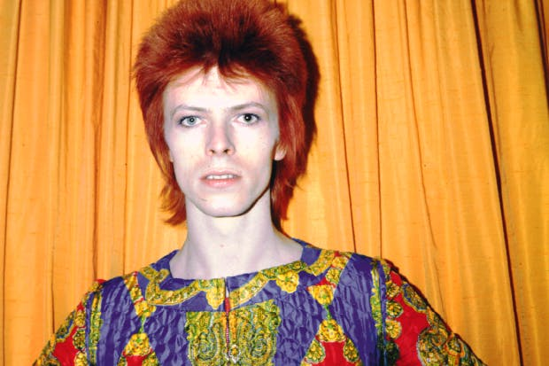 He's in the bestselling show: David Bowie as Ziggy Stardust, New York, 1973