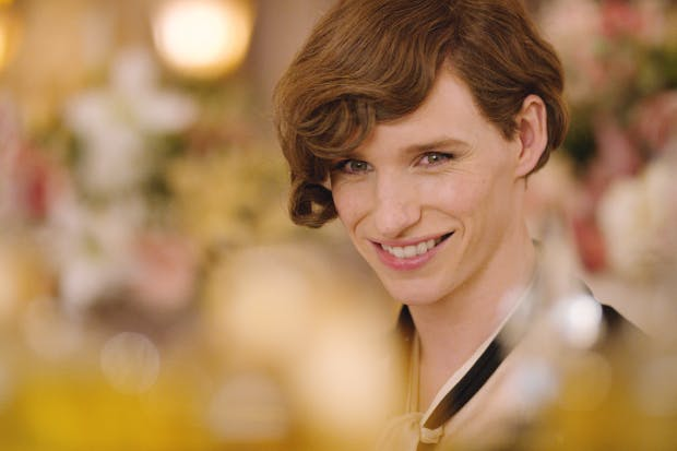 Eddie Redmayne as Lili Elbe in 'The Danish Girl'