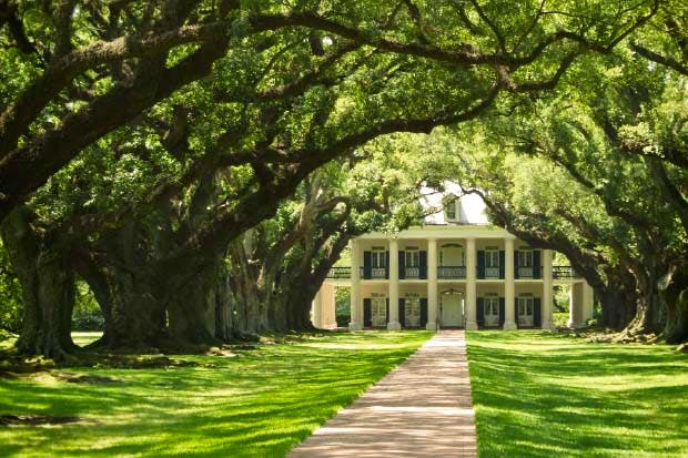 Mississippi plantation house
