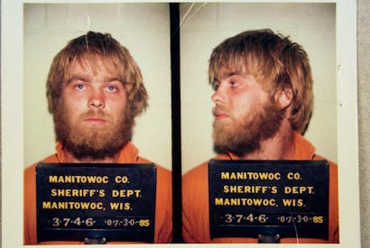 Prime suspect: Steven Avery, whose case is the subject of the Netflix documentary 'Making a Murderer'