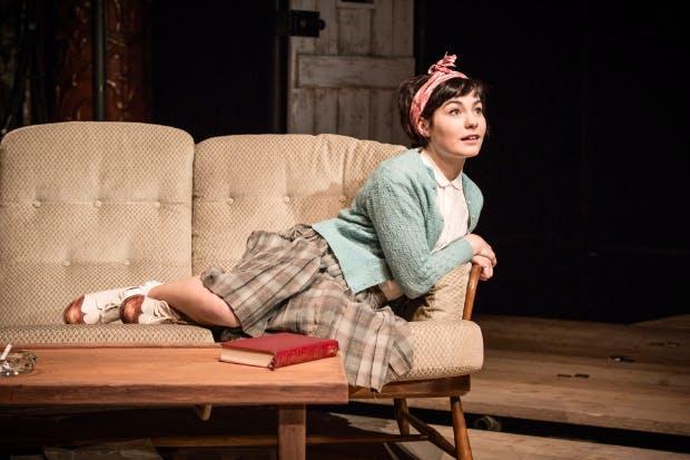 A splash of brightness: Terenia Edwards as Pamela in 'Five Finger Exercise'