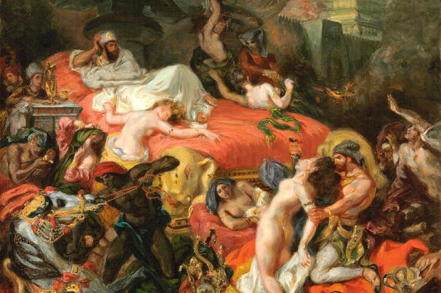 'The Death of Sardanapalus', 1846, by Eugène Delacroix