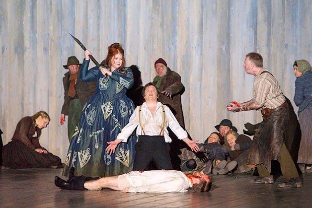 Norma at the ENO (Photo: Alastair Muir)