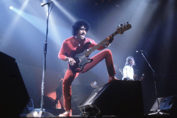 Phil Lynott performs with Thin Lizzy (Photo: Getty)