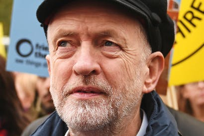 Jeremy Corbyn: authenticity in spades