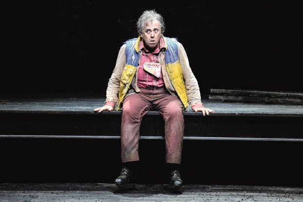 World-weary rather than carefree: Peter Coleman-Wright as Papageno