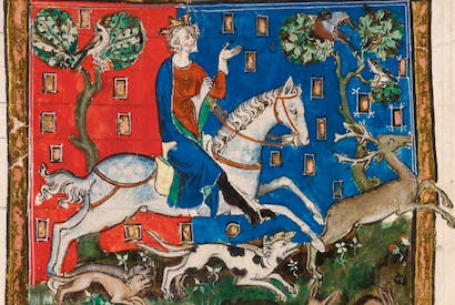 Bad King John: more interested in hunting than good governance