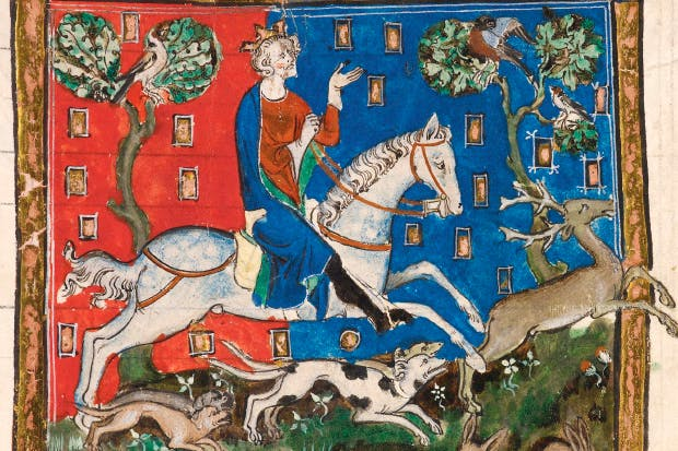 Bad King John: more interested in hunting than good governance