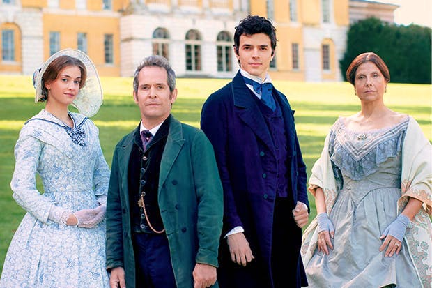 The usual suspects: 'Doctor Thorne' brings us a reliable selection of frock-coated and corsetted British thesps